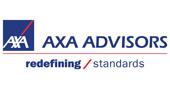 AXA Advisors redefining standards logo