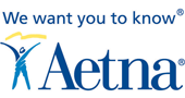 We want you to know Aetna Logo